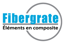 Fibergrate 50 Yr Logo French